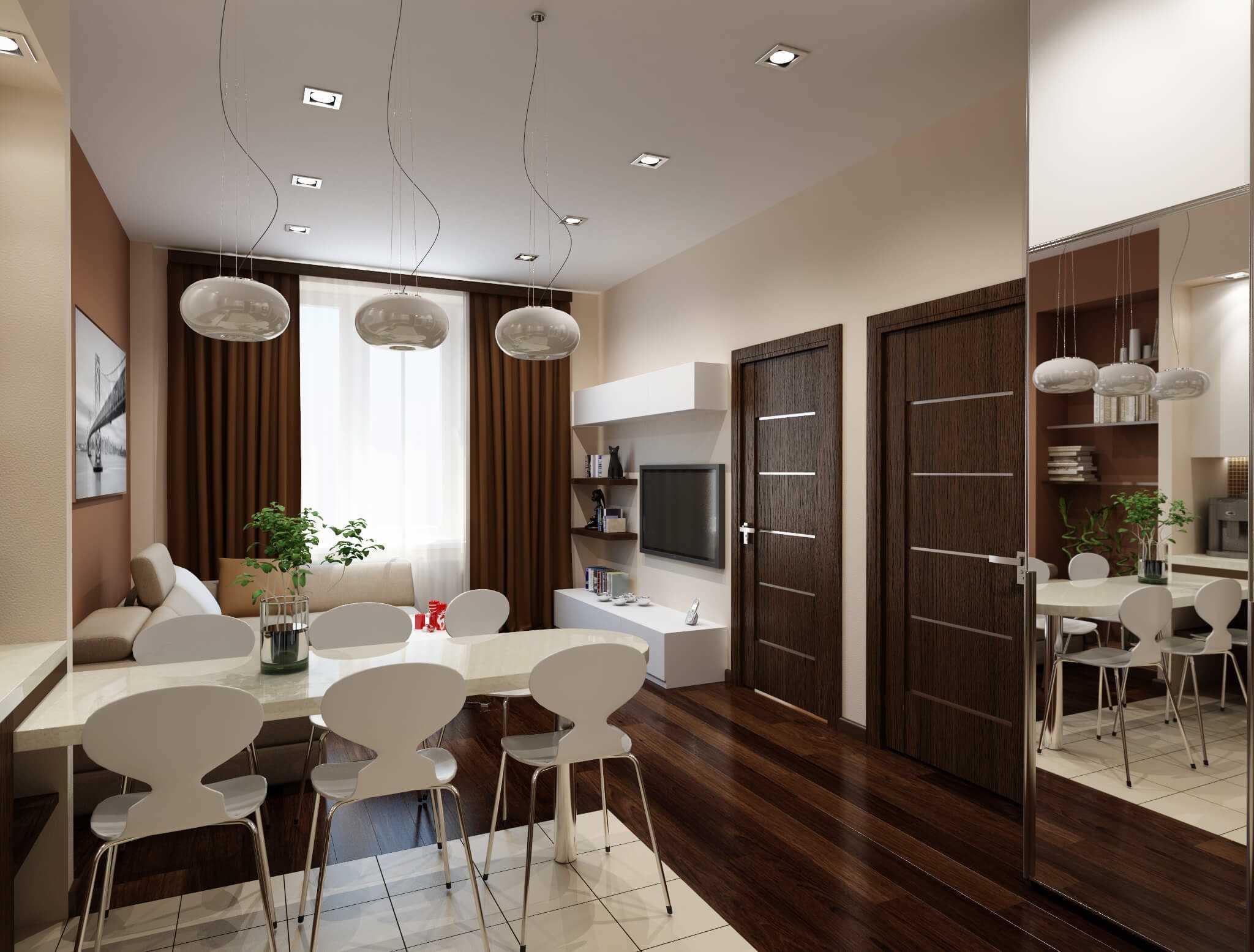 Советы по дизайну двухкомнатной квартиры
